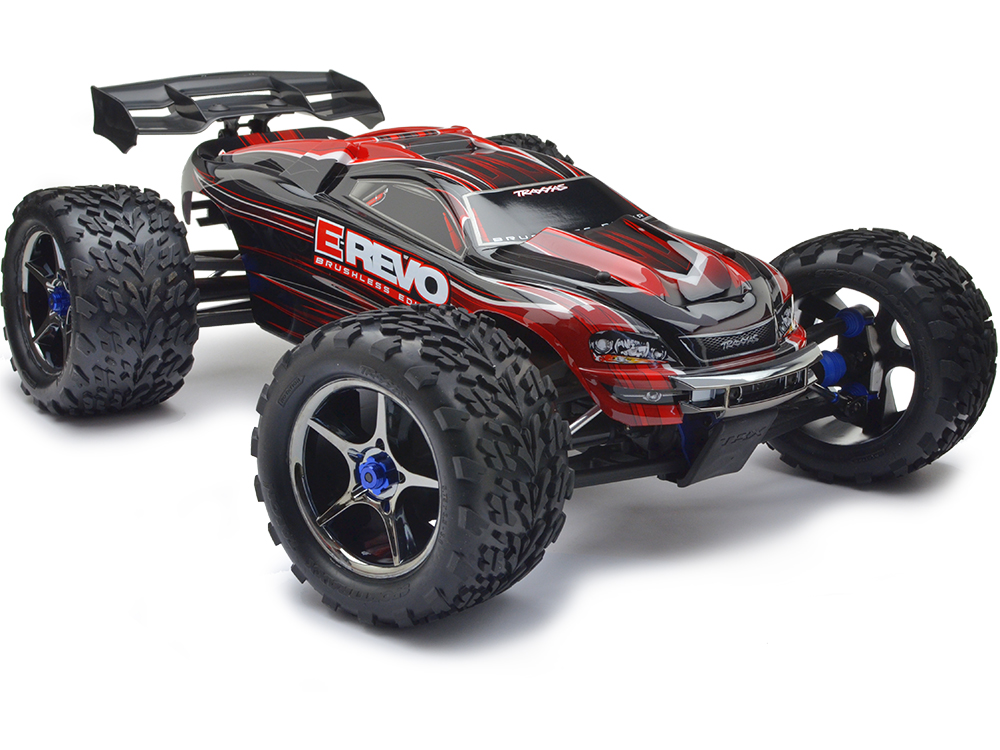 Traxxas E-Revo Brushless MXL-6S TSM (Red) 56086-4R