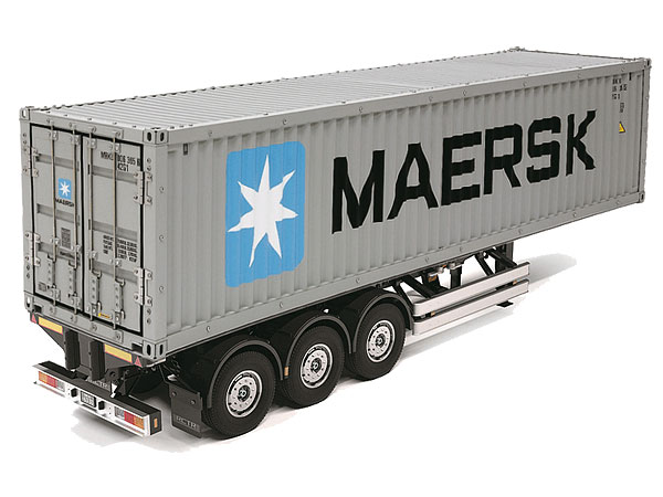 Tamiya 40 Foot Container And Semi Trailer 1/14th Scale 56326