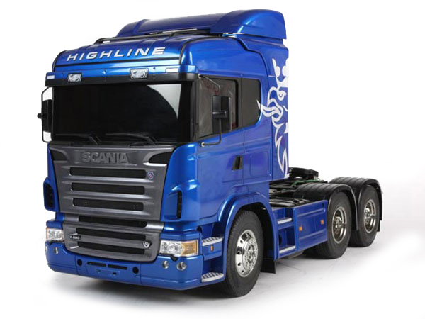 Tamiya Scania R620 Highline 6x4 Limited Blue Edition 56327