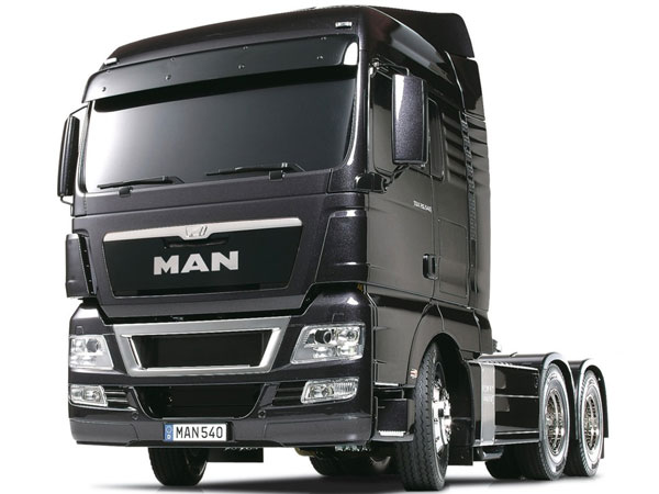 Tamiya MAN TGX 26.540 6x4 - Gun Metal Edition 56346
