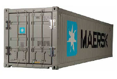 Tamiya 40 Foot Maersk Container 1/14th Scale 56516