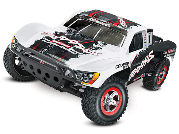 Traxxas Slash VXL Brushless 2WD OBA TSM - White 58076-24TRXW
