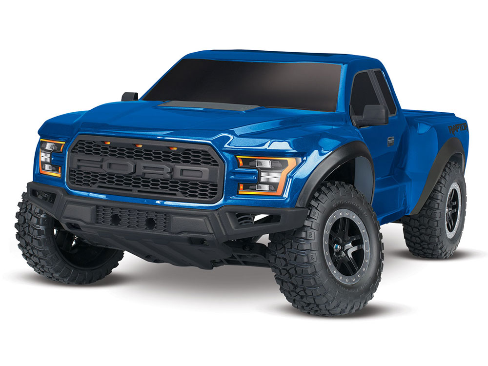 Traxxas 2017 Ford Raptor F150 XL-5 2WD - Lightning Blue 58094-1