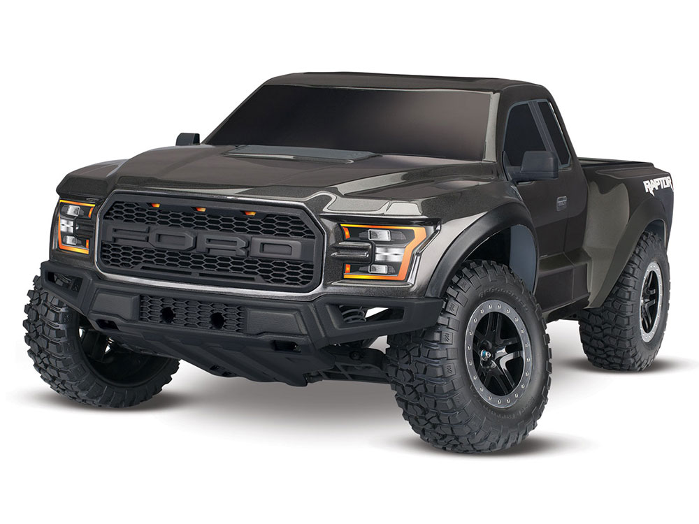 Traxxas 2017 Ford Raptor F150 XL-5 2WD - Magnetic Grey 58094-1GM