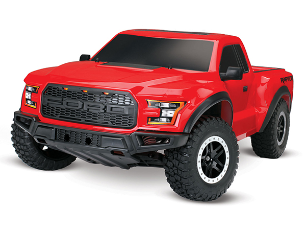 Traxxas 2017 Ford Raptor F150 XL-5 2WD - Red TRX58094-1-RED