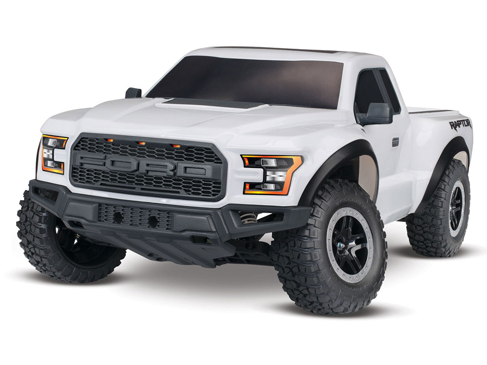 Traxxas 2017 Ford Raptor F150 XL-5 2WD - Oxford White 58094-1