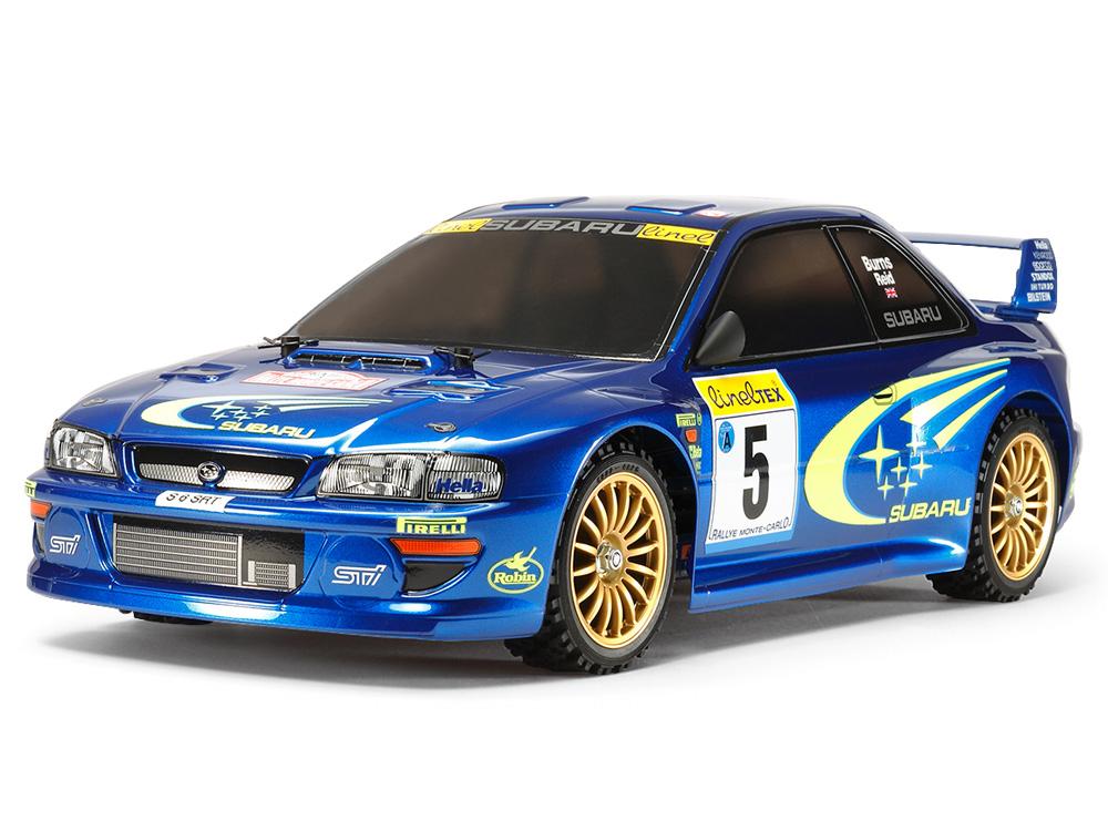 Tamiya Subaru Impreza Monte-Carlo 99 - TT-02 58631