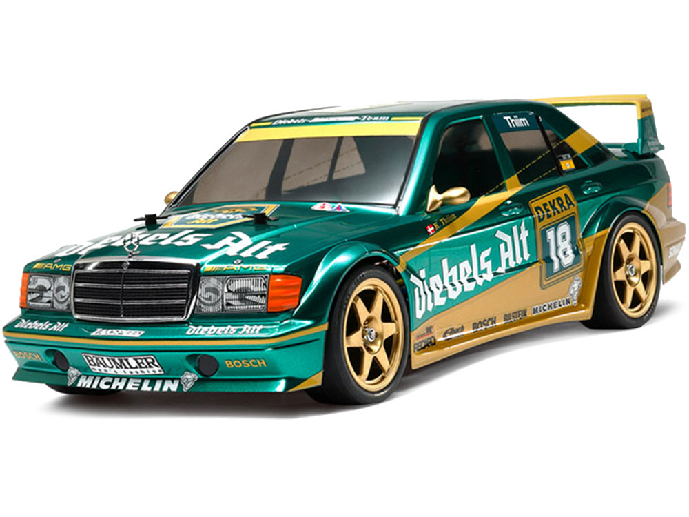 Tamiya Mercedes-Benz 190E 2.5-16 Evo.II Team Zakspeed without ESC 58638B