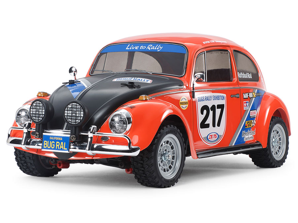 Tamiya Volkswagen Beetle Rally - MF-01X without ESC 58650B