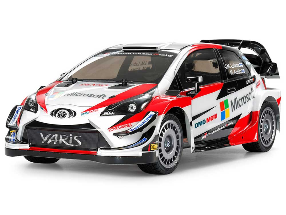 Tamiya Toyota Gazoo Racing Yaris WRC - TT-02 - without ESC 58659B