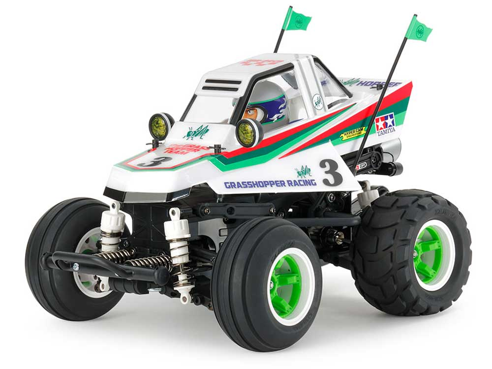 Tamiya Comical Grasshopper WR-02CB - without ESC 58662B