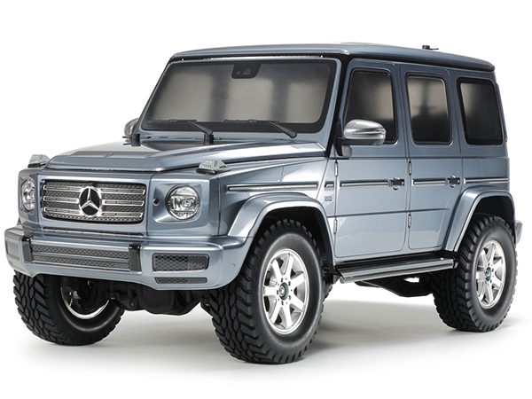 Tamiya Mercedes G500 Painted Gun Metal - CC-02 47441