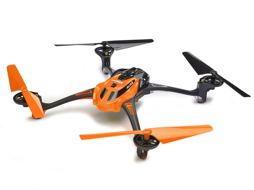 La Trax Alias Quad Rotor Helicopter RTF 2.4GHz - Orange TRX6608-ORNG