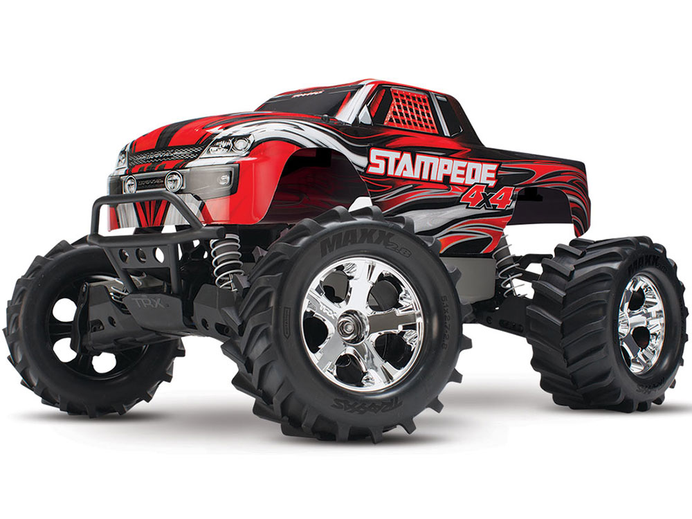 Traxxas Stampede 4x4 XL-5 iD RTR (Red) 67054-1R