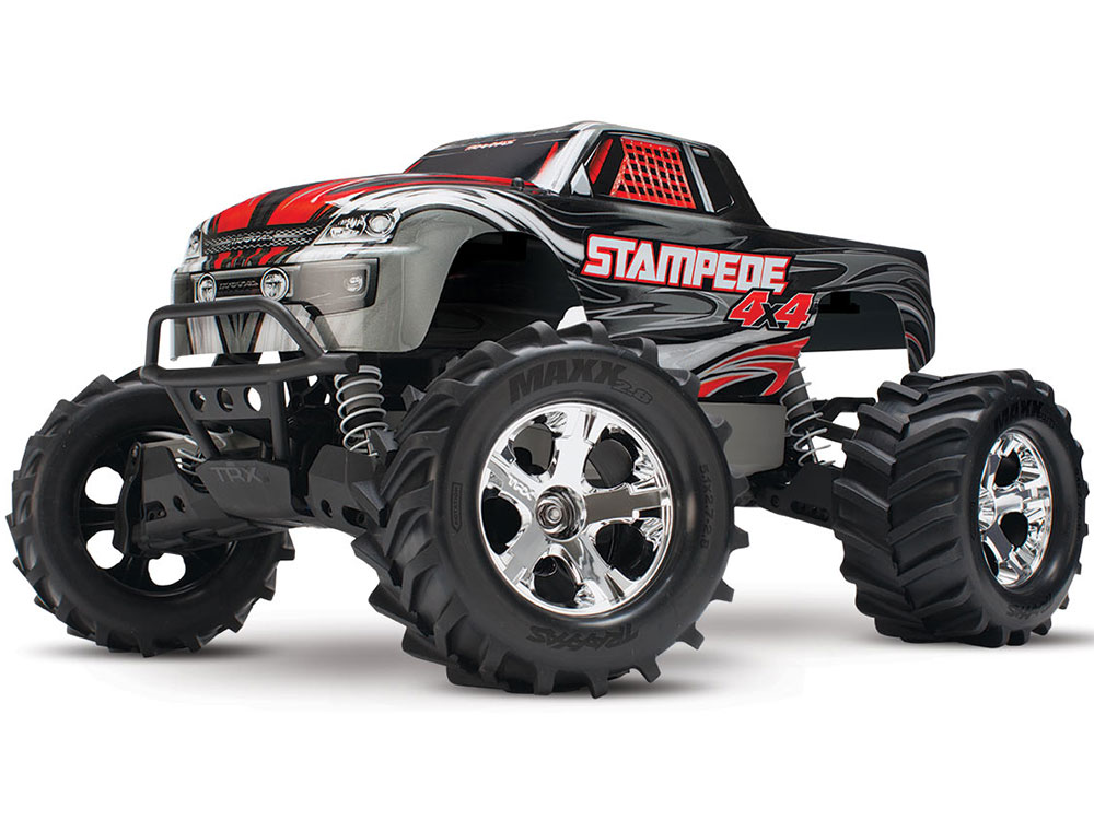 Traxxas Stampede 4x4 XL-5 iD RTR (Silver) 67054-1S