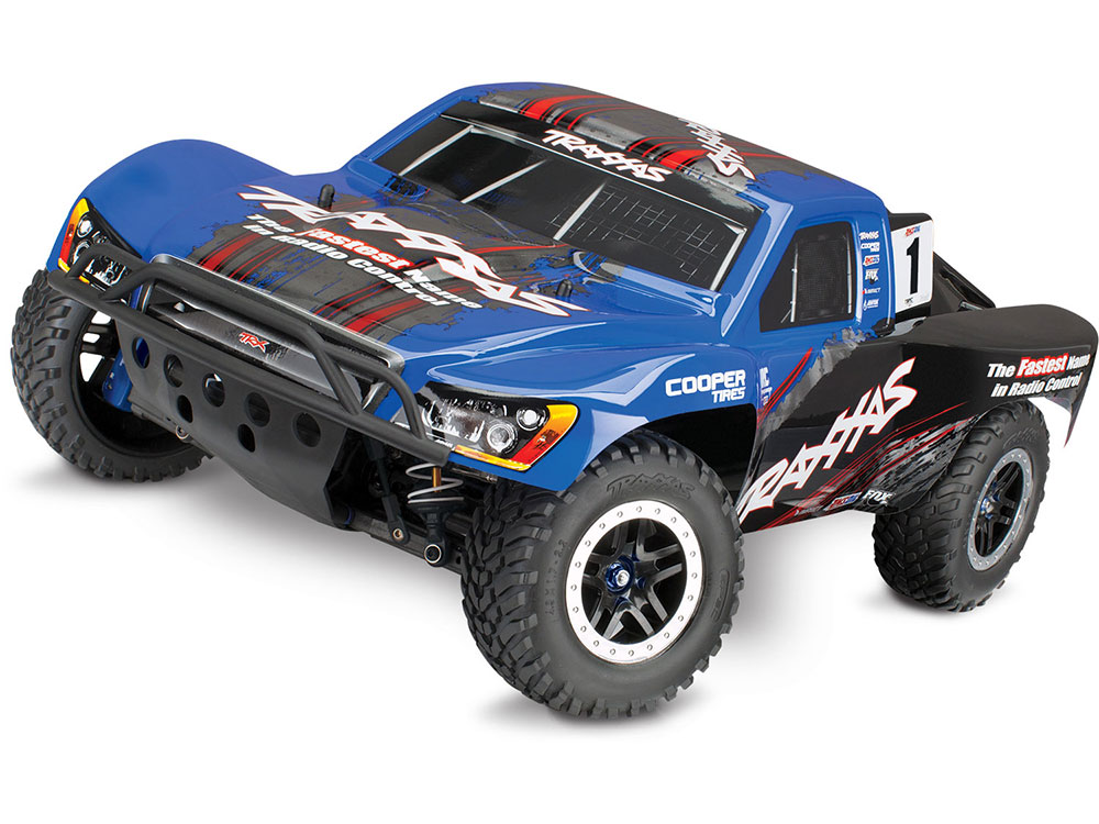 Traxxas Slash Ultimate VXL Brushless 4WD TSM OBA - Blue 68077-24BL