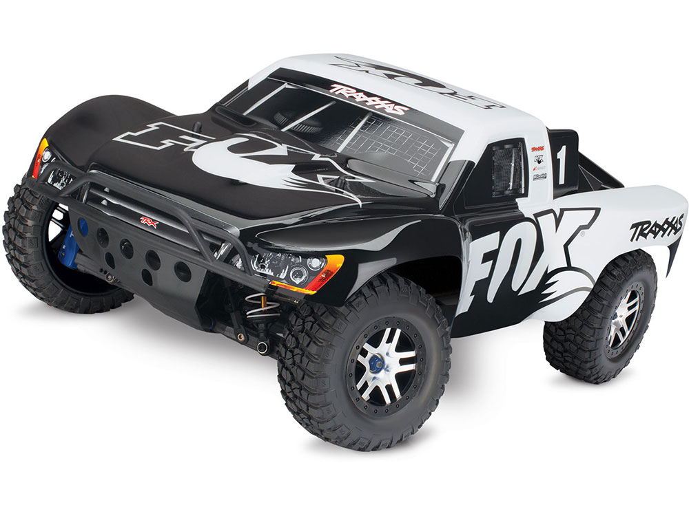 Traxxas Slash Ultimate VXL Brushless 4WD TSM OBA - Fox TRX68077-24-FOX