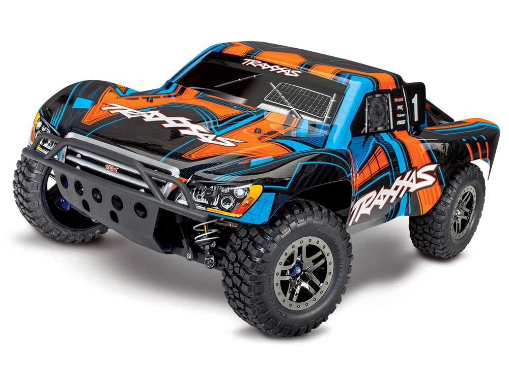 Traxxas Slash 4x4 Ultimate Brushless Pro TSM - Orange TRX68077-4-ORNG