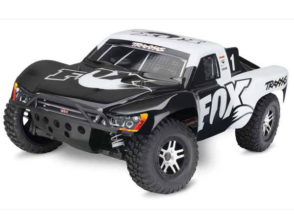 Traxxas Slash 4x4 Brushless RTR OBA, TSM (Fox) 68086-24FX