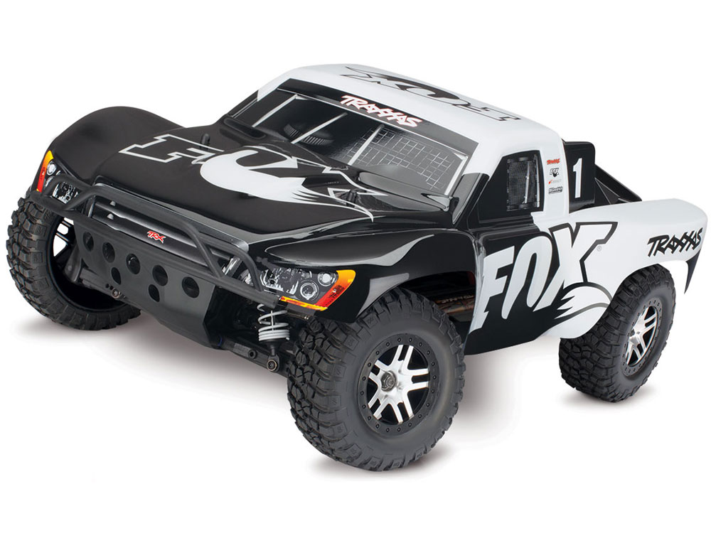Traxxas Slash 4x4 Brushless RTR - TSM (Fox) 68086-4FX