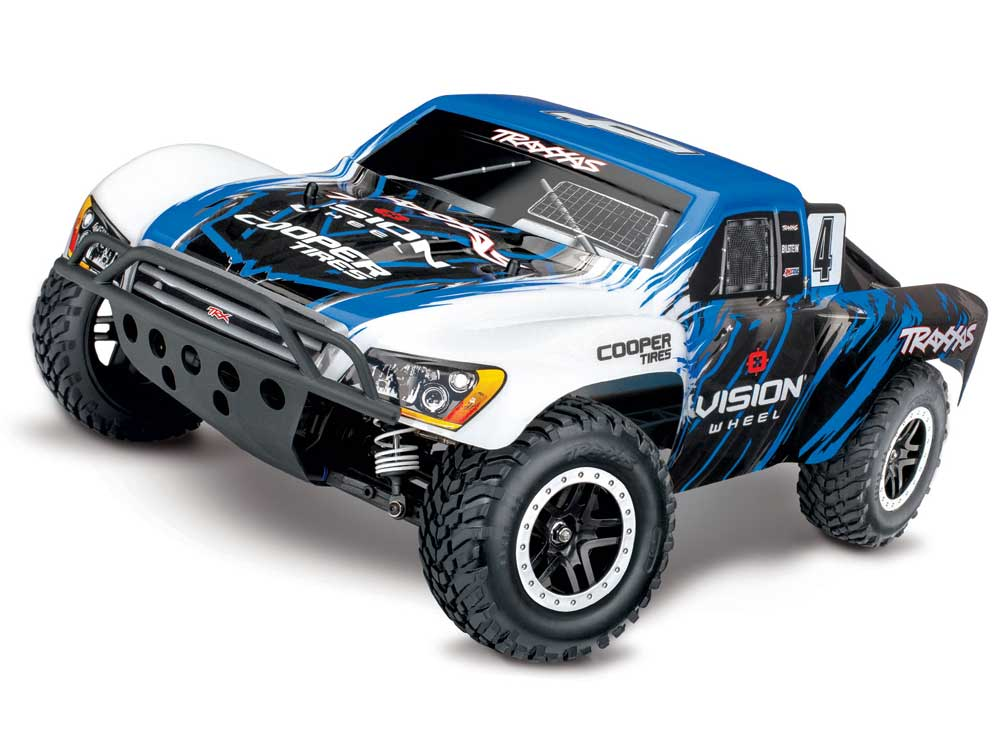 Traxxas Slash 4x4 Brushless RTR - TSM (Vision Racing Edition) TRX68086-4-VISN