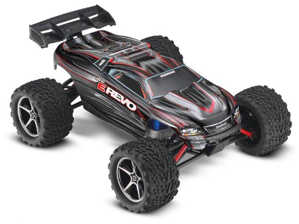 1//16 Traxxas Mini E-Revo RPM73982 Front Bumpers Black