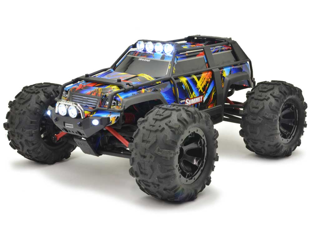 Traxxas 1/16 Summit XL-2.5 iD RTR with LEDS (Pre-Owned) 72054-1-U1