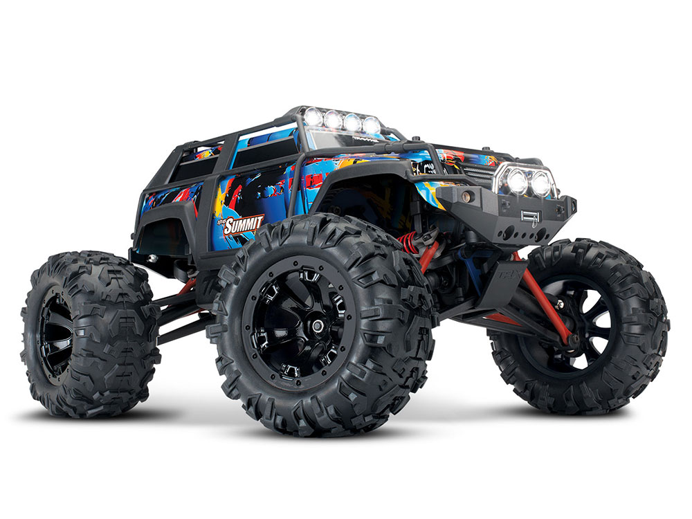 Traxxas 1/16 Summit XL-2.5 iD RTR with LEDS 72054-5