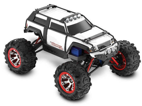 Traxxas 1/16 Summit VXL iD RTR (White) 72076-3W