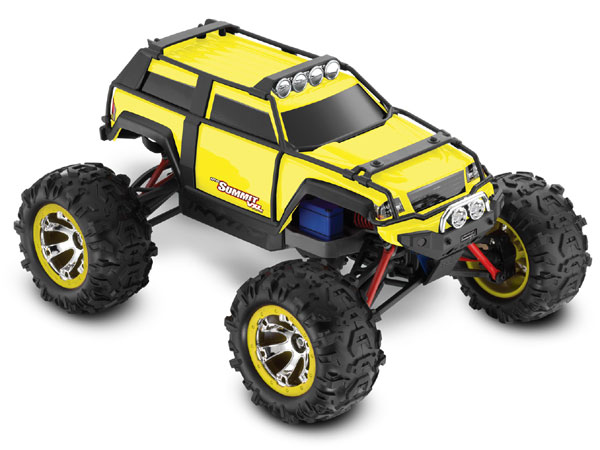 Traxxas 1/16 Summit VXL iD RTR (Yellow) TRX72076-3-YELW