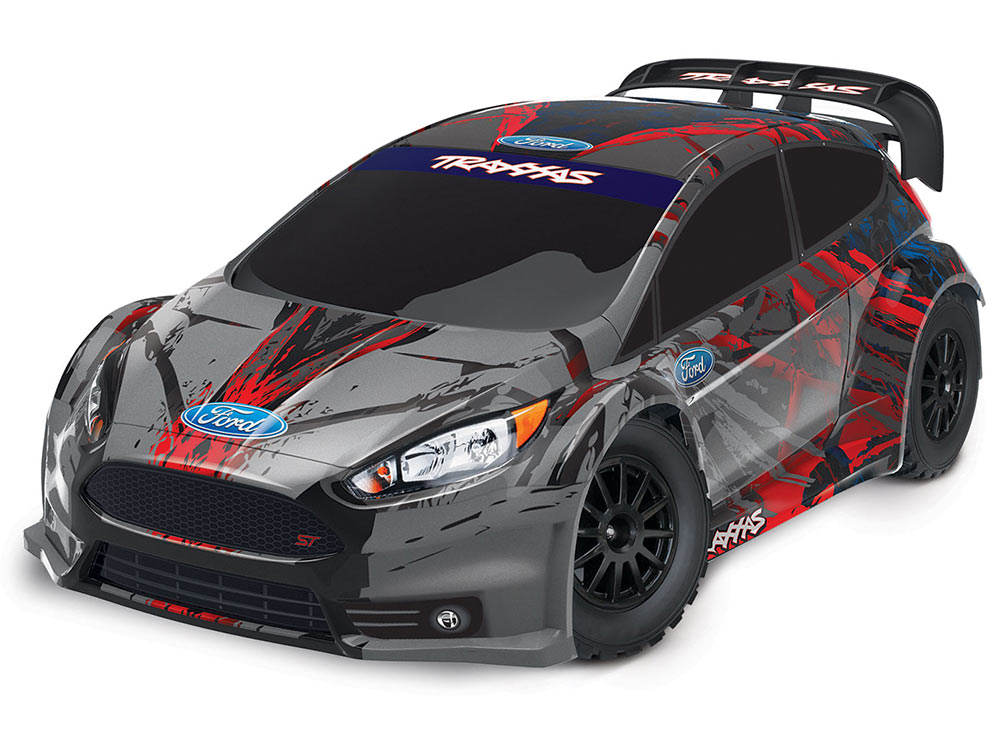 Traxxas Ford Fiesta ST Rally 1/10th 74054-4