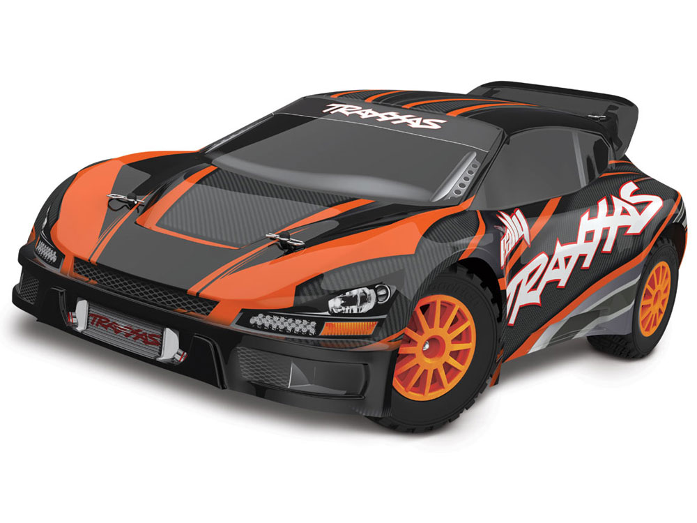 Traxxas 1/10 Rally VXL Brushless TSM 4WD - Orange 74076-3O
