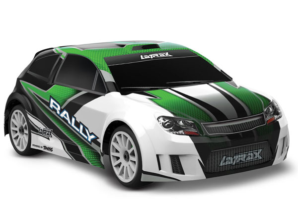 La Trax Rally 1/18 Scale 4WD Rally Car - Green 75054-1G