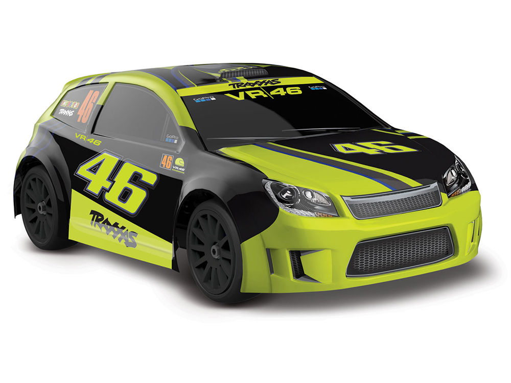 La Trax Rally 1/18 Scale 4WD Rally Car VR46 - Valentino Rossi TRX75064-1-VR46