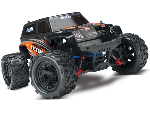 La Trax Teton 1/18 Scale 4WD Monster Truck (Orange) 76054-1O