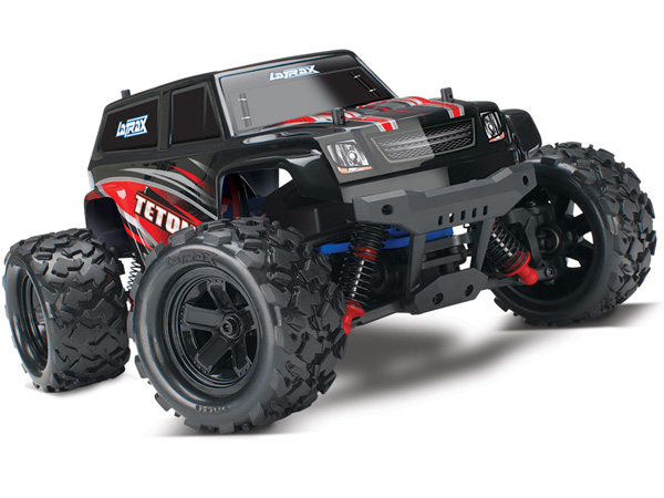 La Trax Teton 1/18 Scale 4WD Monster Truck (Red) 76054-1R