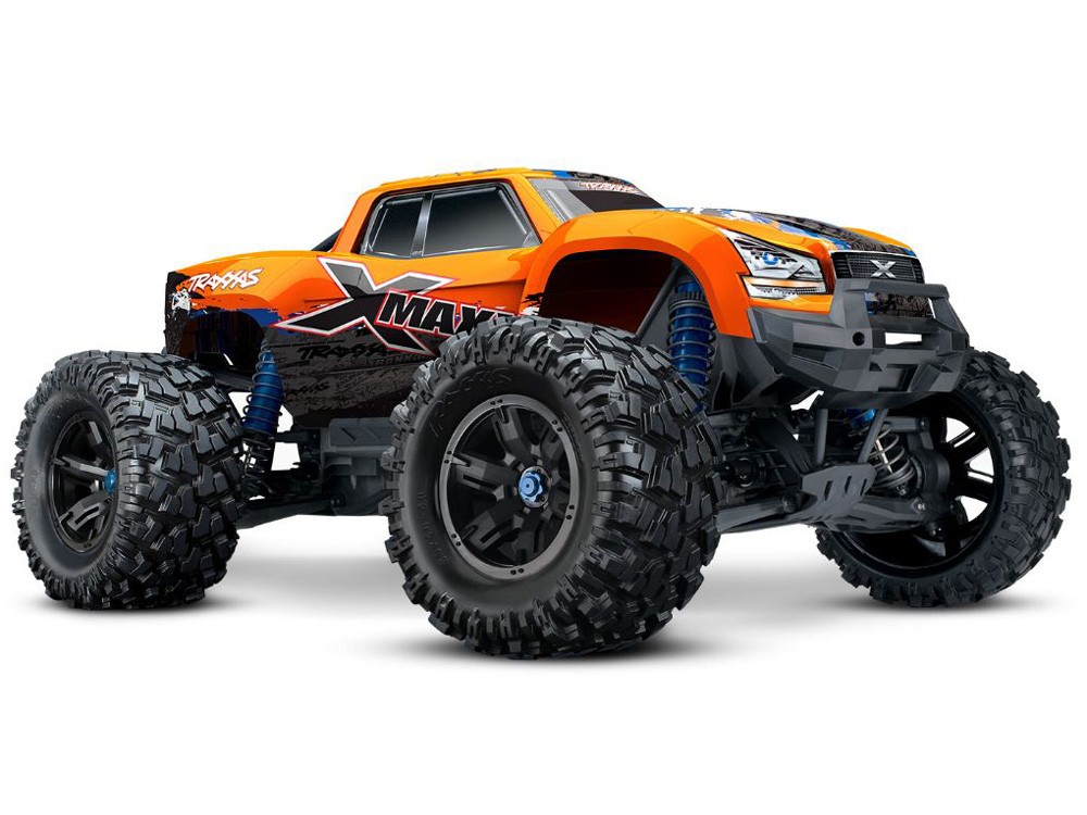 Traxxas X-Maxx 4WD Brushless RTR 8S Monster Truck (Orange X) TRX77086-4-ORNGX