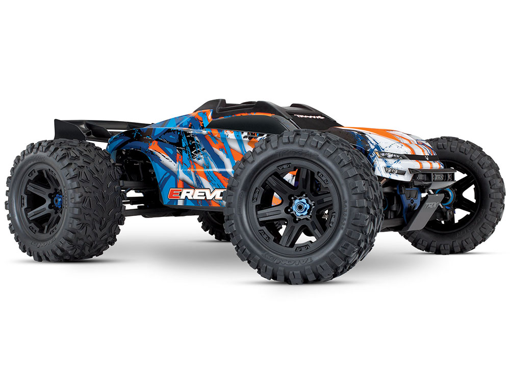 Traxxas E-Revo 2.0 Brushless VXL-6S TSM - Orange 86086-4O