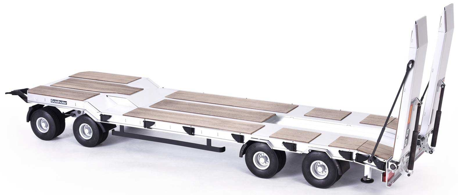 Carson Goldhofer TU4 Flatbed Trailer C907400