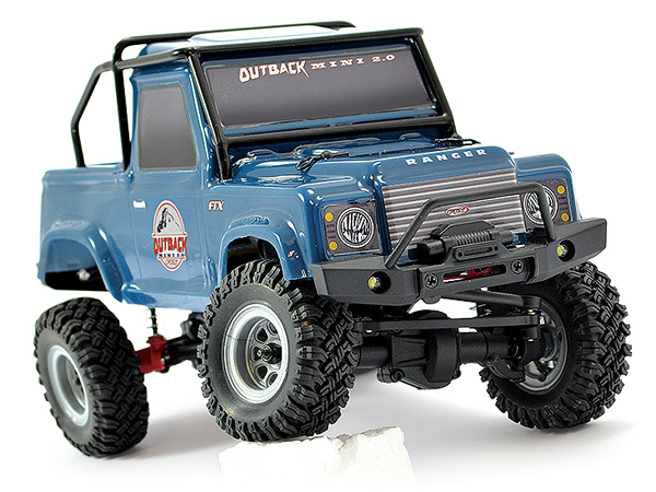 FTX Outback Mini 2.0 Ranger 1:24 Ready-to-Run - Dark Blue FTX5507DB