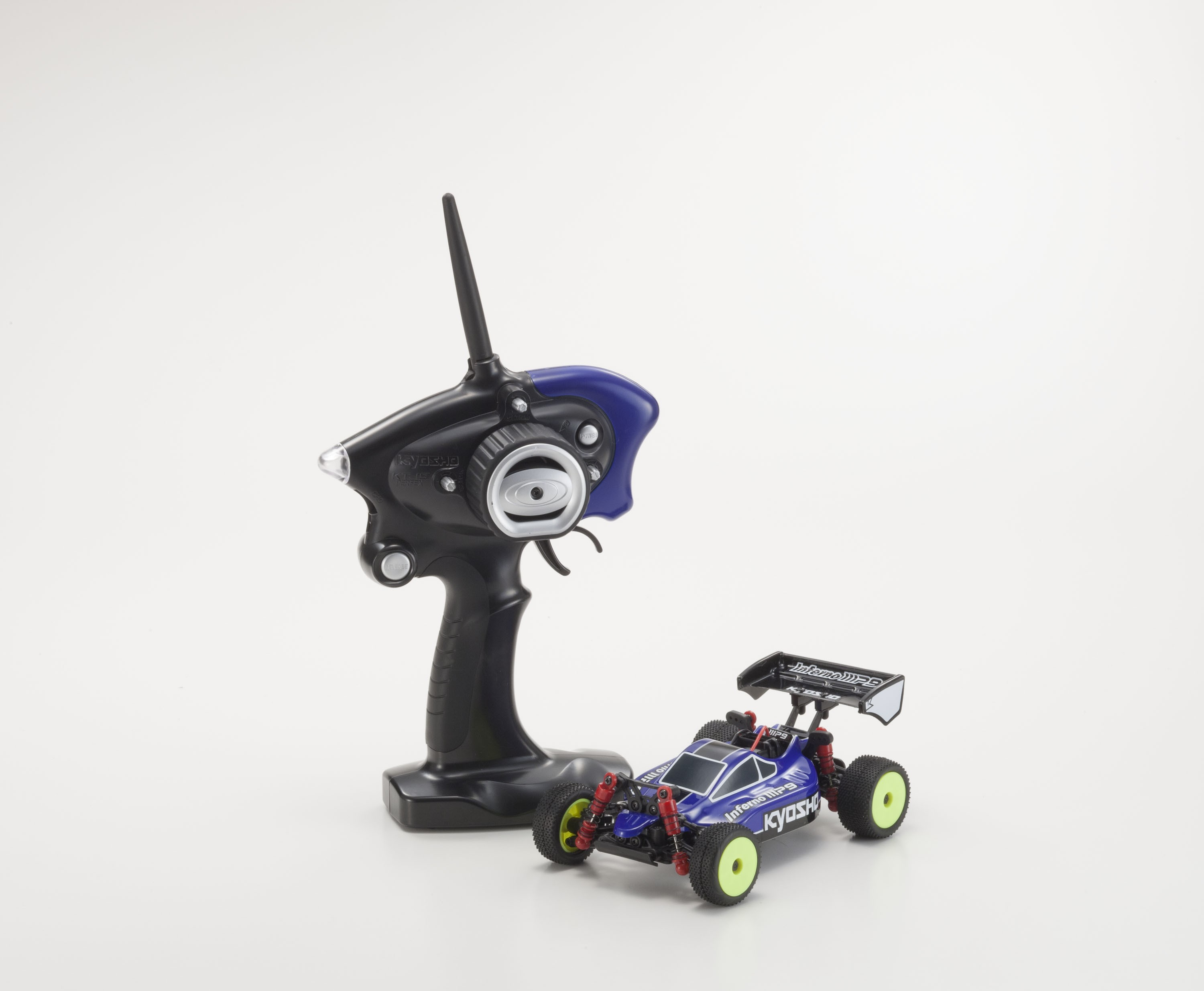 Kyosho MINI-Z MB010S 4WD 1/24 INFERNO MP9 TKI3 Blue/Black Readyset 32081BB