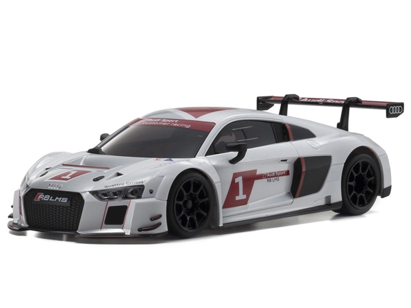 Kyosho Mini-Z RWD Audi R8 LMS 2015 - White (W-MM/KT531P) 32323AS
