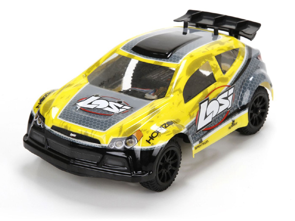 Losi Micro Rally-X Brushless 4WD Rally Car RTR (Yellow) LOS00002ICT2