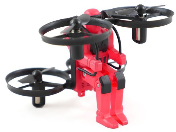 Rage RC Jetpack Commander RTF Quad - Red RGR4501