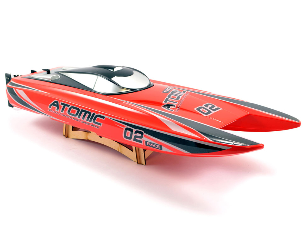 Volantex RC Racent Atomic 70cm Brushless Racing Boat RTR (Red) V792-4R