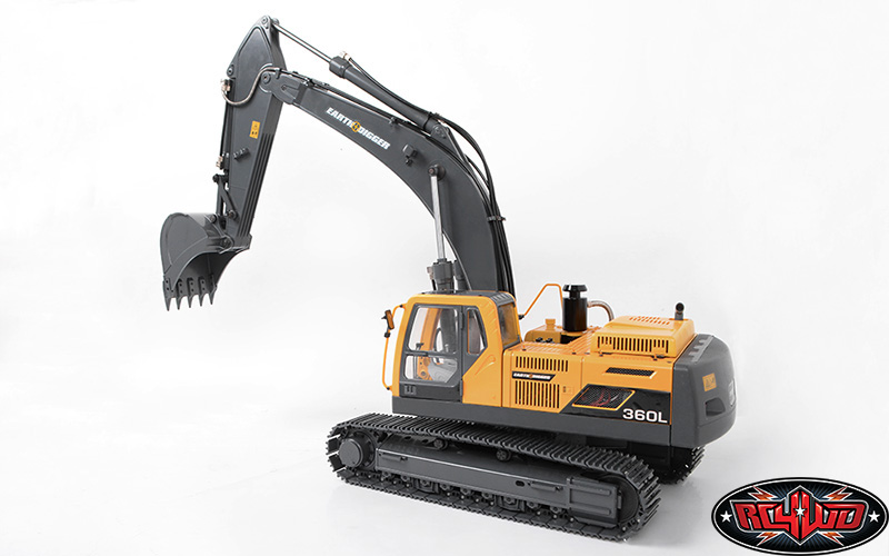 RC4WD VVJD00016 1/14 Scale Earth Digger 360L Hydraulic Excavator (RTR) VV-JD00016
