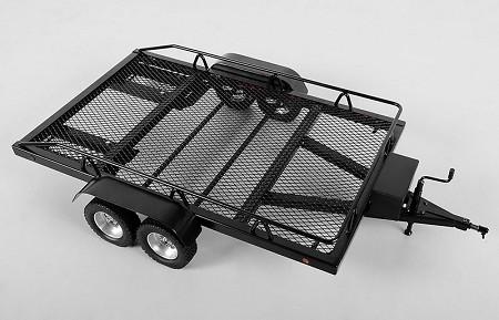 RC4WD BigDog 1/8 Dual Axle Scale Car/Truck Trailer Z-H0004