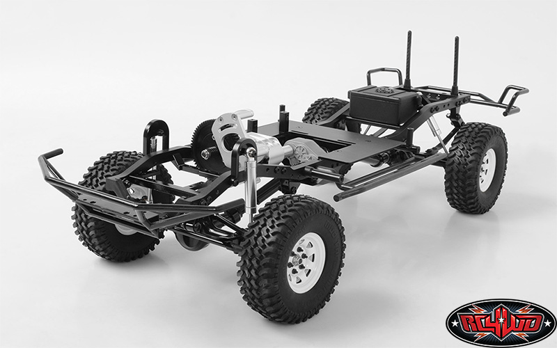 RC4WD ZK0059 Trail Finder 2 Truck Kit LWB 1/10 Scale Long Wheel Base Chassis Kit Z-K0059