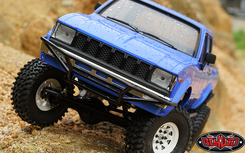 RC4WD ZRTR0030 Trail Finder 2 LWB RTR w/Mojave II Four Door Body Set Z-RTR0030