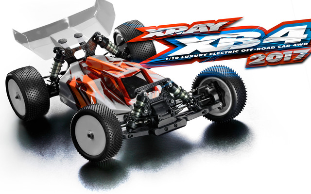 Xray XB4 2017 Specs 4WD 1/10 Electric Off-Road Car XR360004